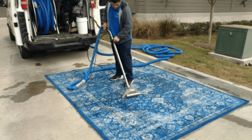 Commercial Area Rug Cleaning Services