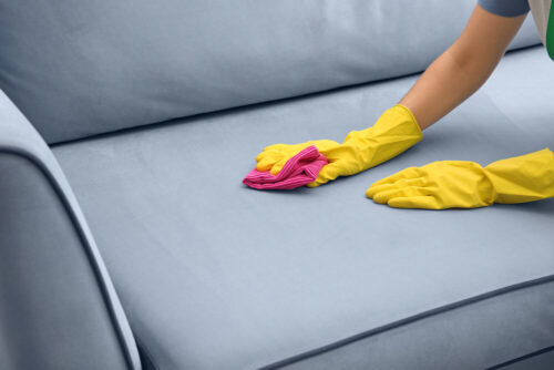 DIY upholstery cleaning Dallas