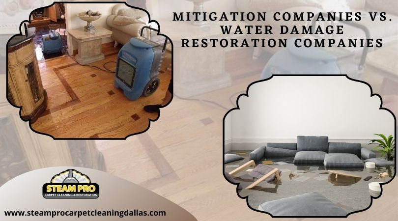 Mitigation Companies vs. Water Damage Restoration Companies