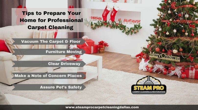 Tips to Prepare Your Home for Christmas Professional Carpet Cleaning
