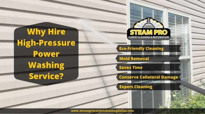 Why Hire High Pressure Power Washing Service?