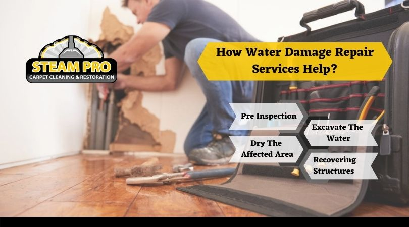 How Water Damage Repair Services Help?