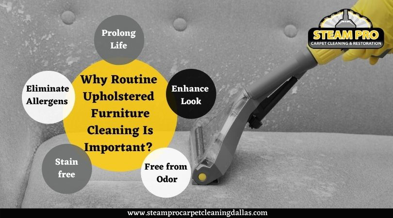 Why Routine Upholstered Furniture Cleaning Is Important?