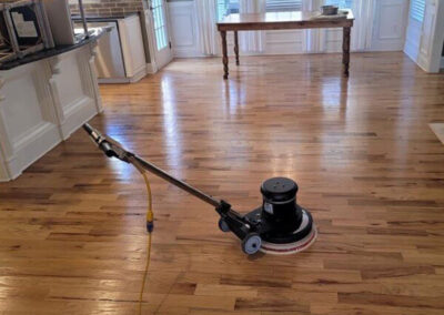 Hardwood Floor Cleaning - After